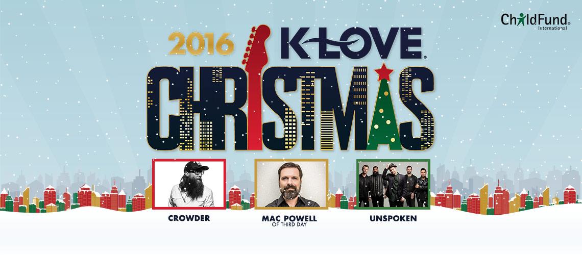 Klove Christmas Tour.2016 K Love Christmas Tour Chicago Go Promoters