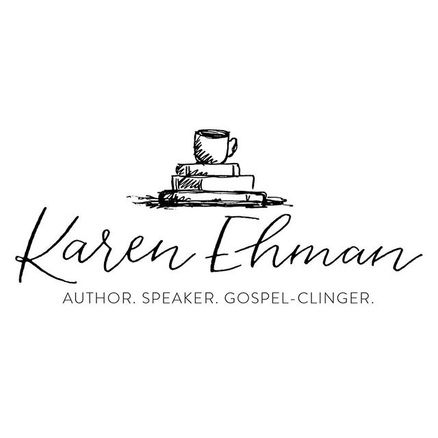 Excited to reveal this logo that I did a few months ago for a lovely woman, who I now consider a friend. Karen you are so full of joy and compassion for life and its infectious. It was an honor to work with you 💕  Go check out @karenehman and follow her for some amazing inspo and encouragement.