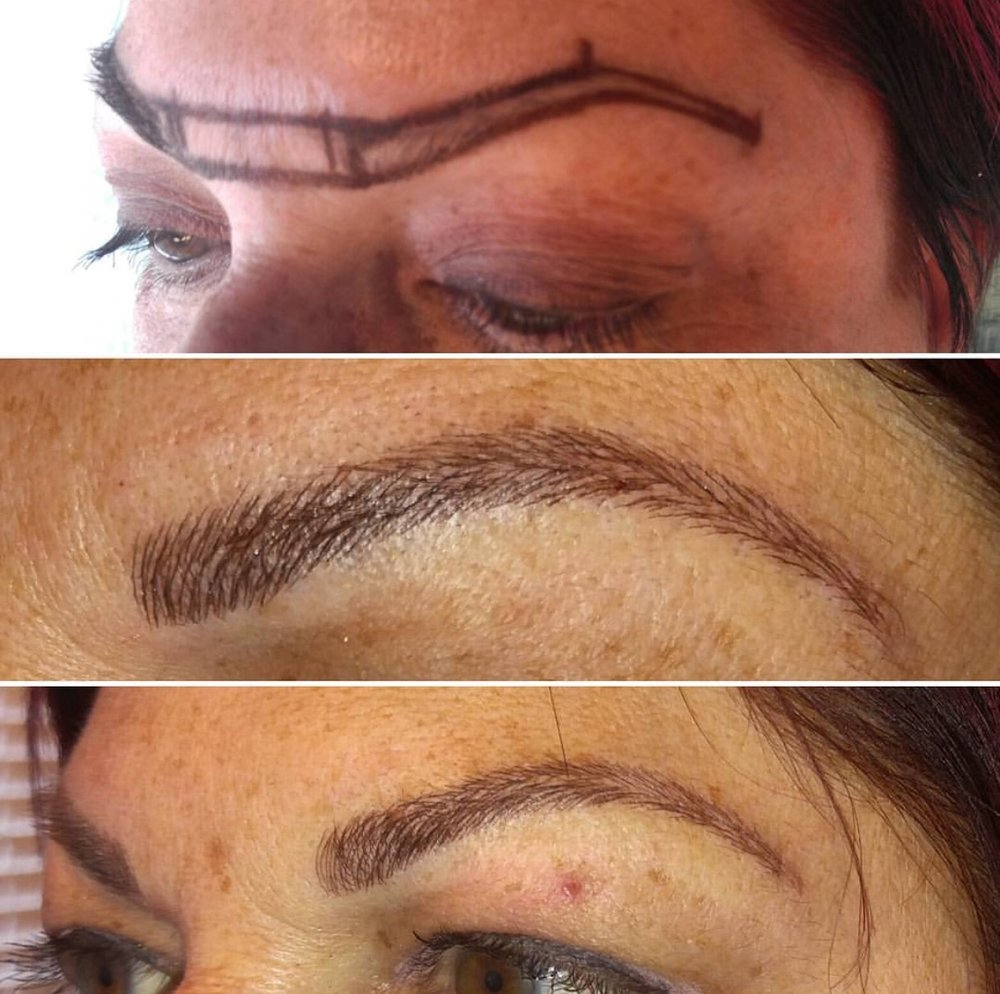 Microblading Artist: Kelly
