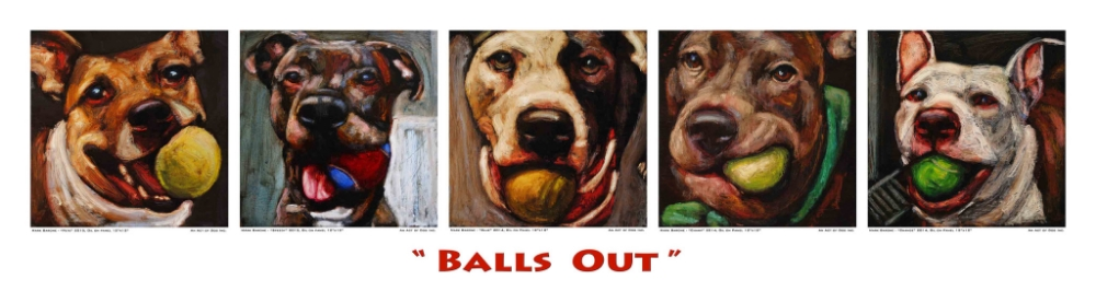 """Balls Out"" by Mark Barone"