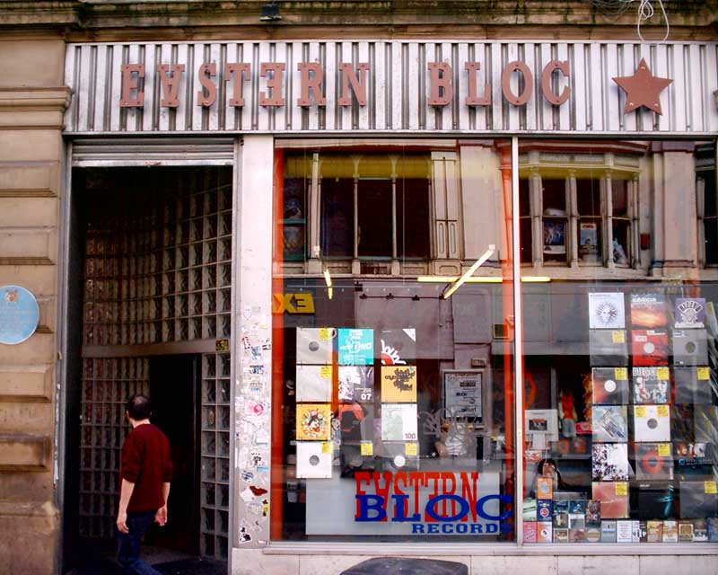 Eastern Bloc Records, Manchester.