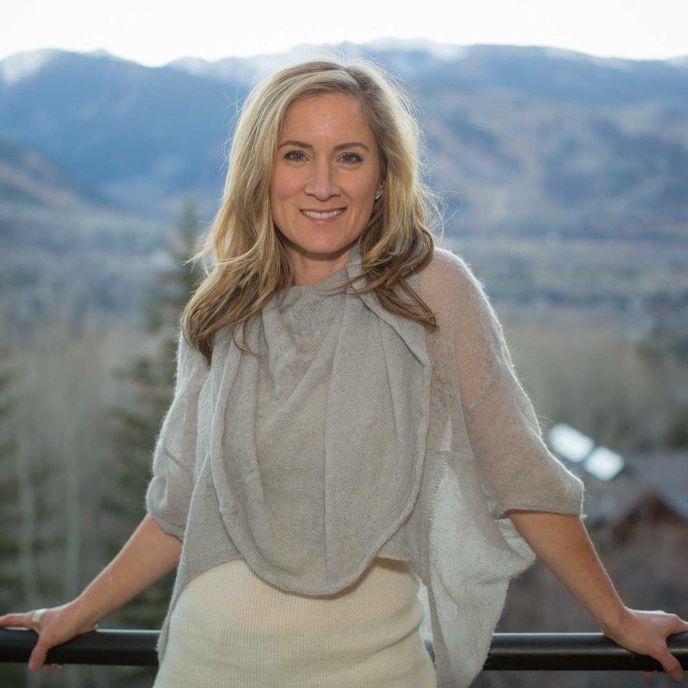 Heather on Murdock's deck