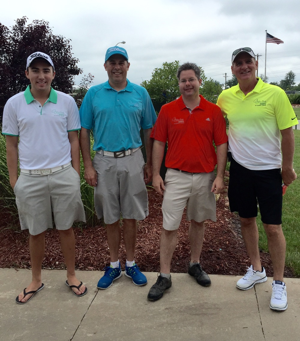 From left to right: Brett Griggs, Chad Griggs, Jeff Cremer, And Rick Schlueter.