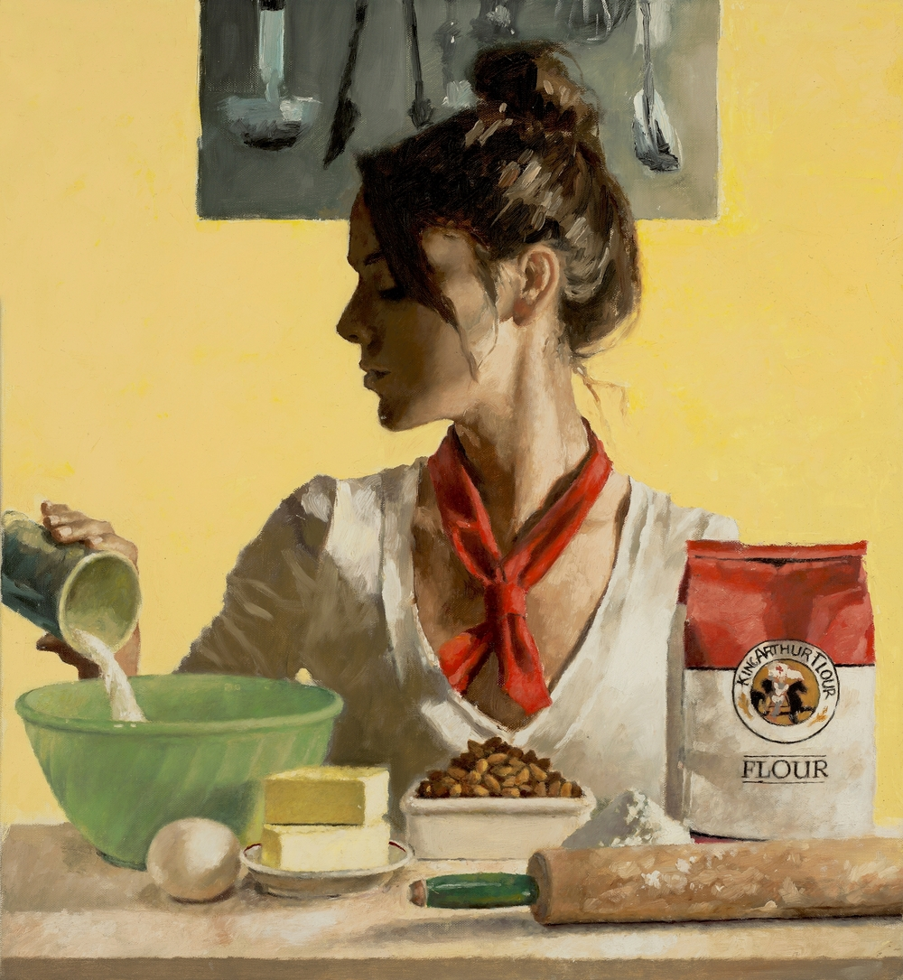 med_Day in the life #3-24_x22_ Oil on Linen Michael Fitzpatrick.jpg