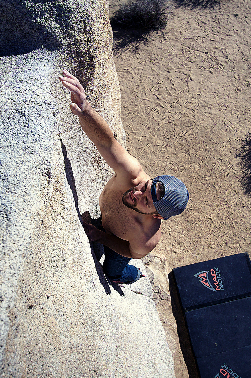 Cody reaching the top on Pinhead... my favorite (no star) v1