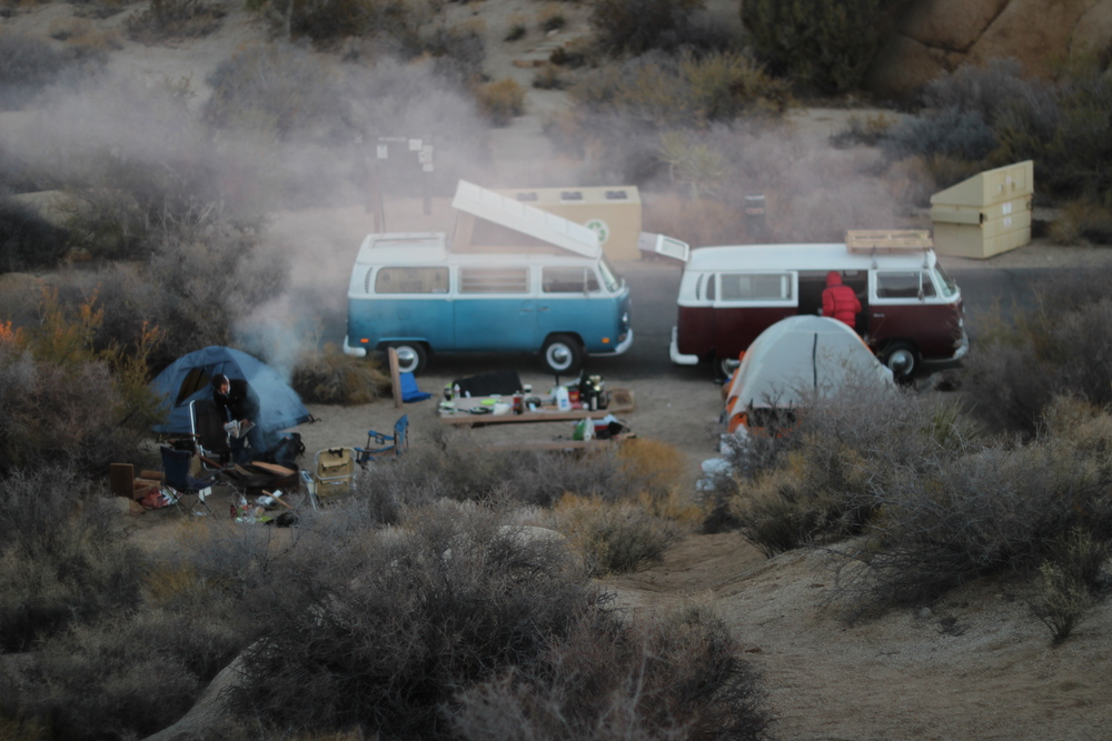 VW's at the campsite.  That's always a site for sore eyes.