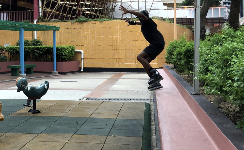 Back Torque over the gap - still frame by Travis Stewart