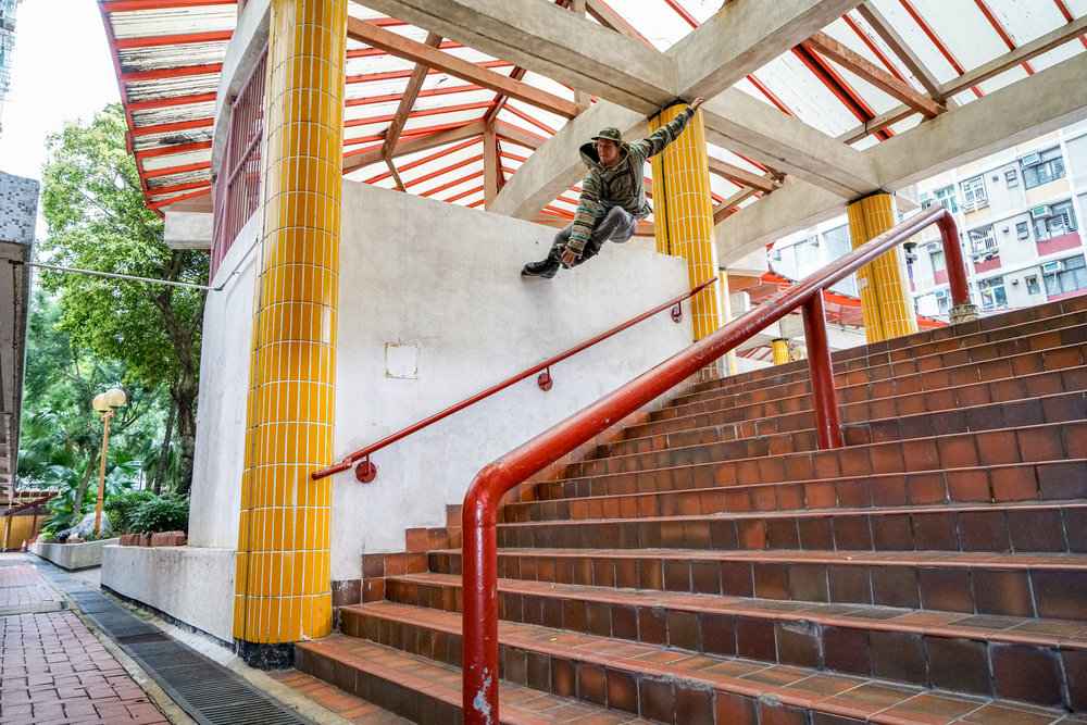 Mute Wallride to fakie - photo by Kyle Strauss