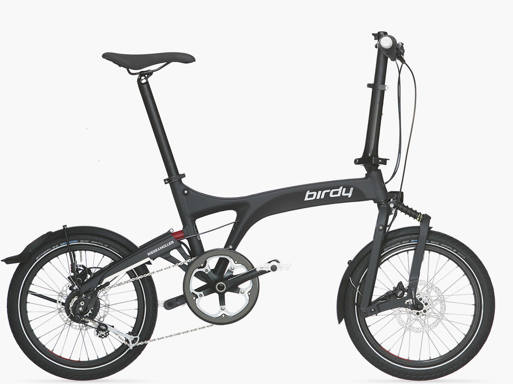 BIRDY IS A BRAND NEW MODEL FULL SUSPENSION FOLDING BIKE