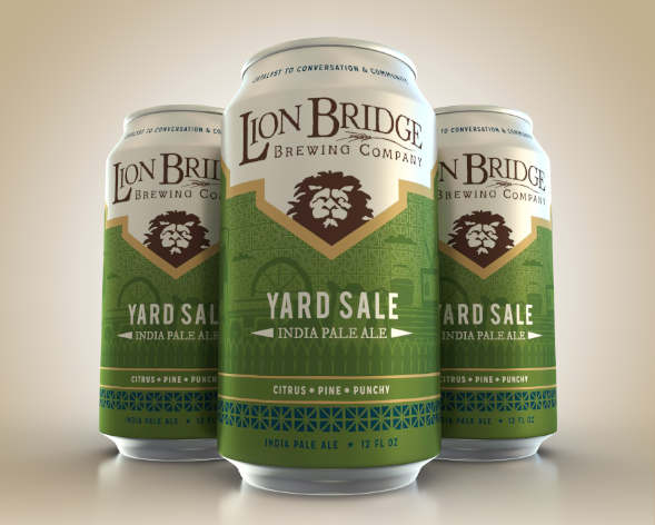 Yard Sale (American IPA, 6.2%)   The smooth bitterness and hoppy punch you love in India Pale Ales. Our hop blend yields citrus, tropical and floral notes that's backed by some light malt sweetness.