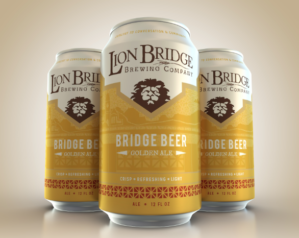 Bridge Beer (Light Golden Ale, 3.6%)   Crisp, refreshing, and light. Bridge Beer is our take on a Golden Ale with just a bit more panache. It doesn't demand hours of contemplation but you might just contemplate drinking it for hours.