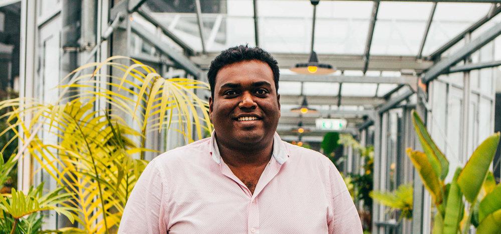 Eeswaran Navaratnam - Rocket Scientist and AI specialist.