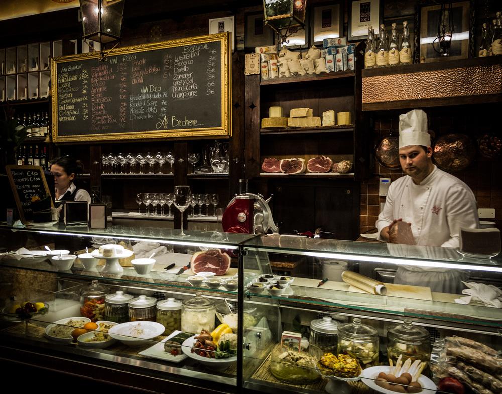 Italy : Veneto : Antica Bottega del Vino, Verona