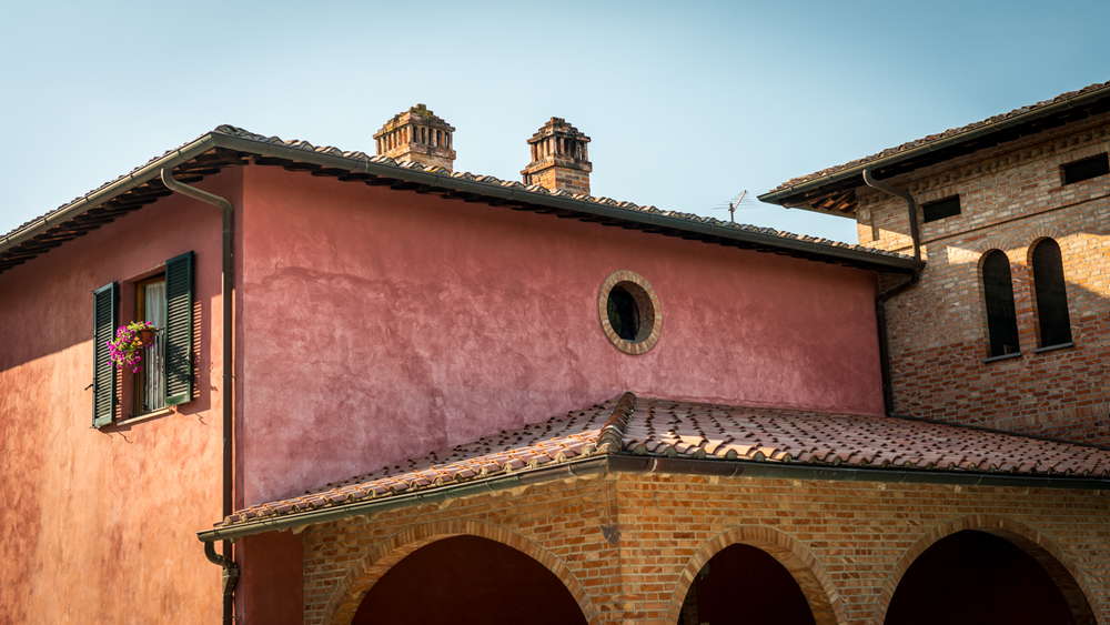 Italy : Tuscany : Poliziano's estate in Montepulciano