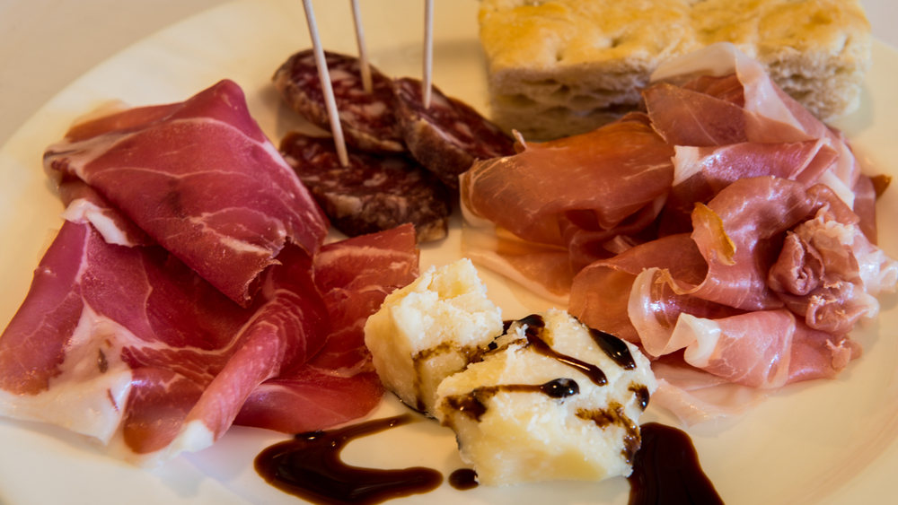 Italy : Emilia-Romagna : Lunchtime at Cleto Chiarli