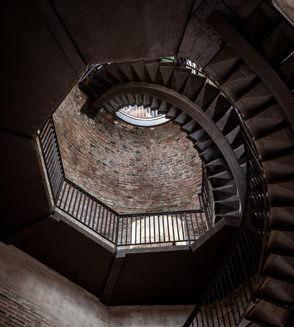Italy : Veneto : Inside Torre dei Lamberti in Verona