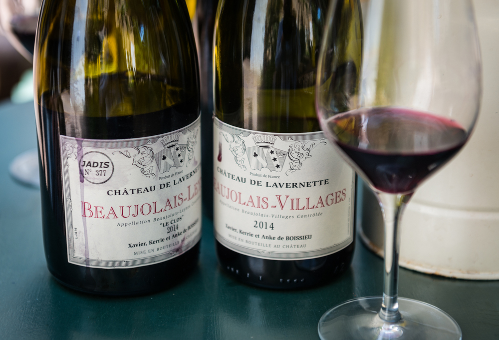 France : Beaujolais : Beautiful side by side at Chateau de Lavernette
