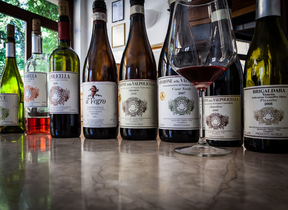 Italy : Veneto : The full lineup at Azienda Agricola Brigaldara