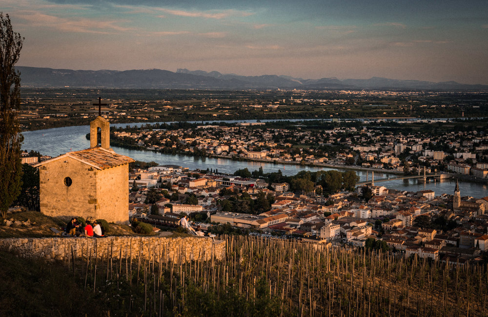 France : Northern Rhone : La Chapelle de l'Ermite