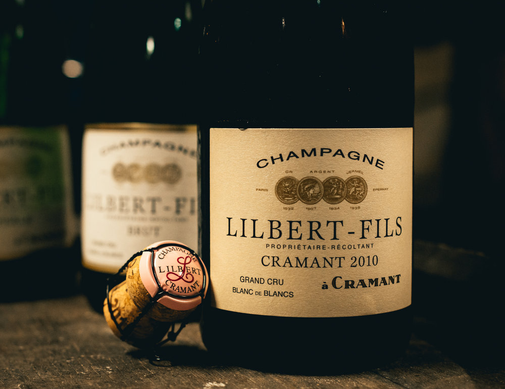 France : Champagne : Lilbert in Cramant