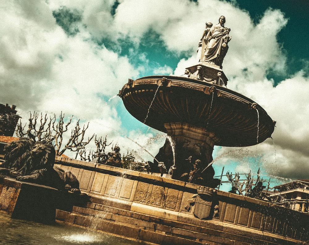 France : Provence : Aix-en-Provence