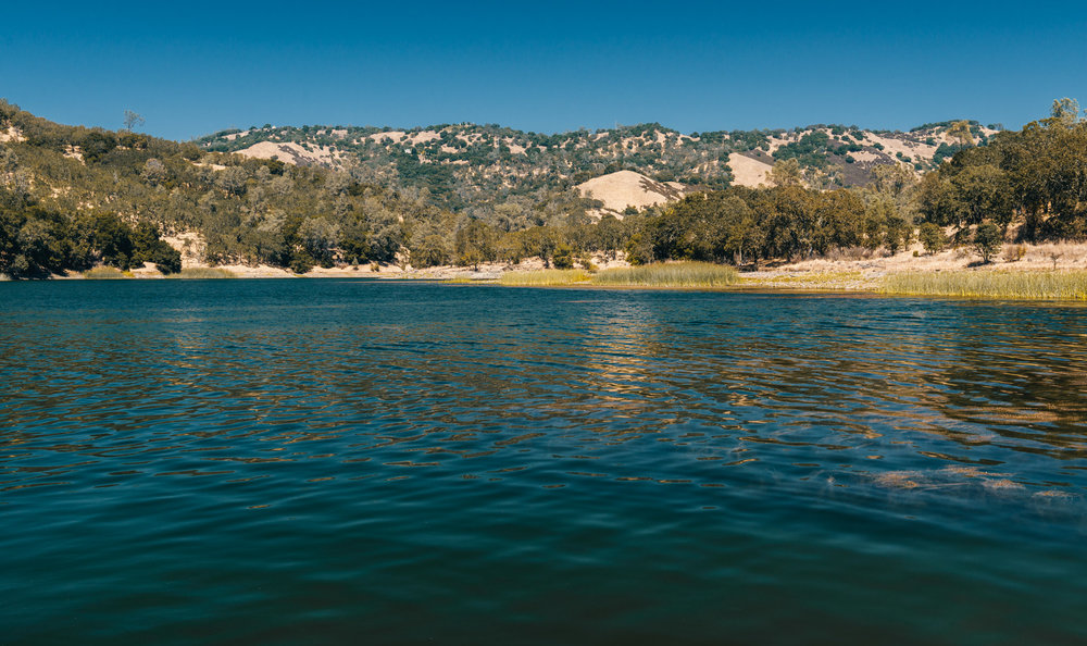California : Napa Valley : Lake Hennessey