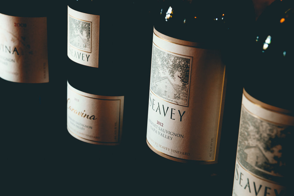 California : Napa Valley : Tasting at Seavey Vineyard