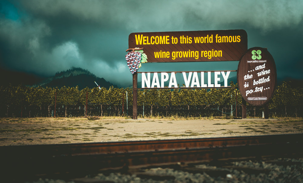 California : Napa Valley : Welcome to the Napa Valley
