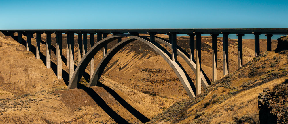 United States : Washington : Fred G. Redmon Memorial Bridge, Yakima Valley