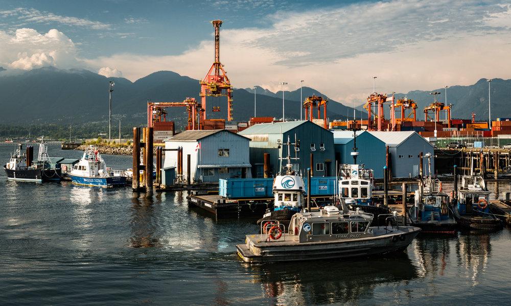 Canada : British Columbia :Vancouver : CRAB Park