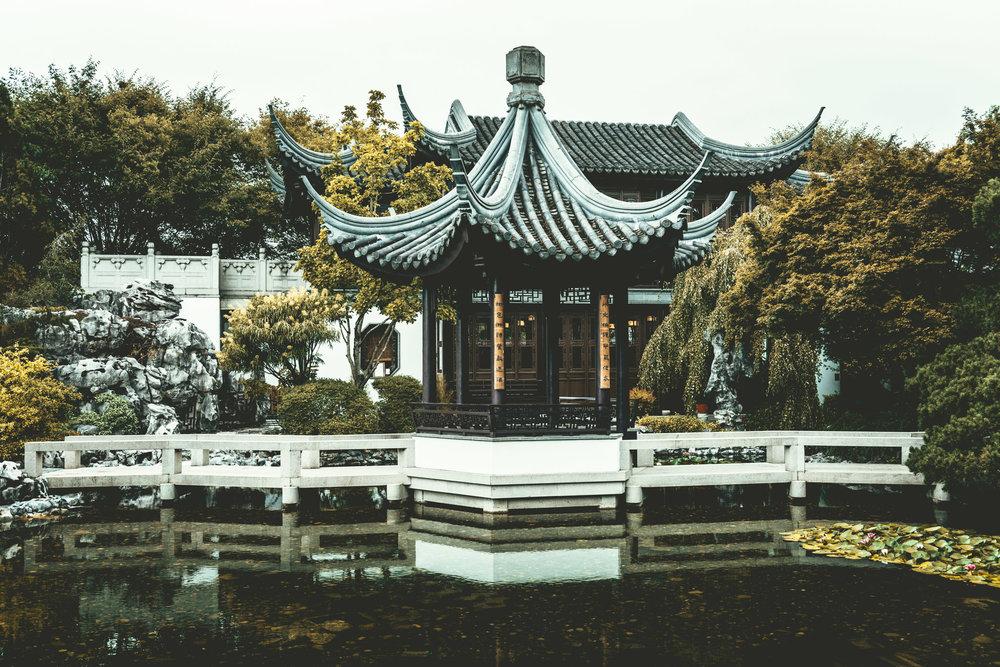 United States : Oregon : Portland : Lan Su Chinese Garden