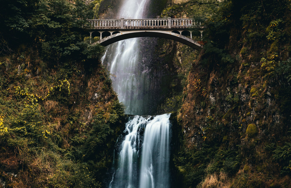 United States : Oregon : Multnomah Falls