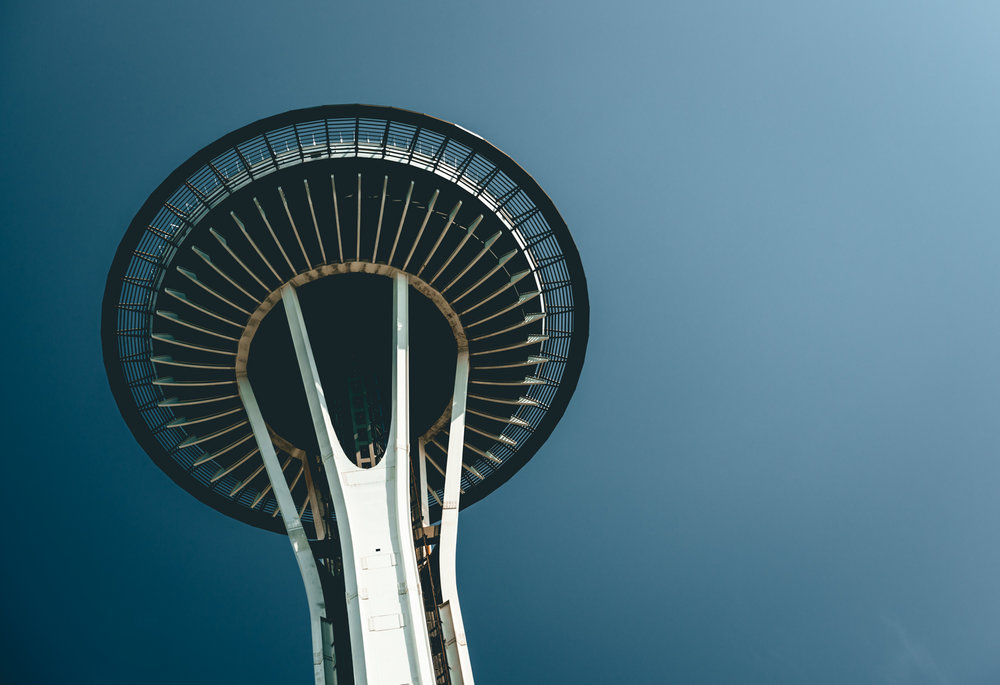 United States : Washington : Seattle : Space Needle