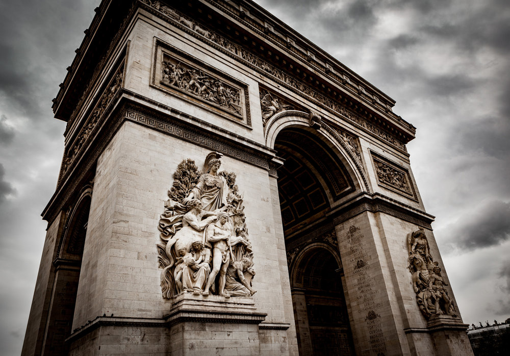 France : Paris : Arc de Triomphe
