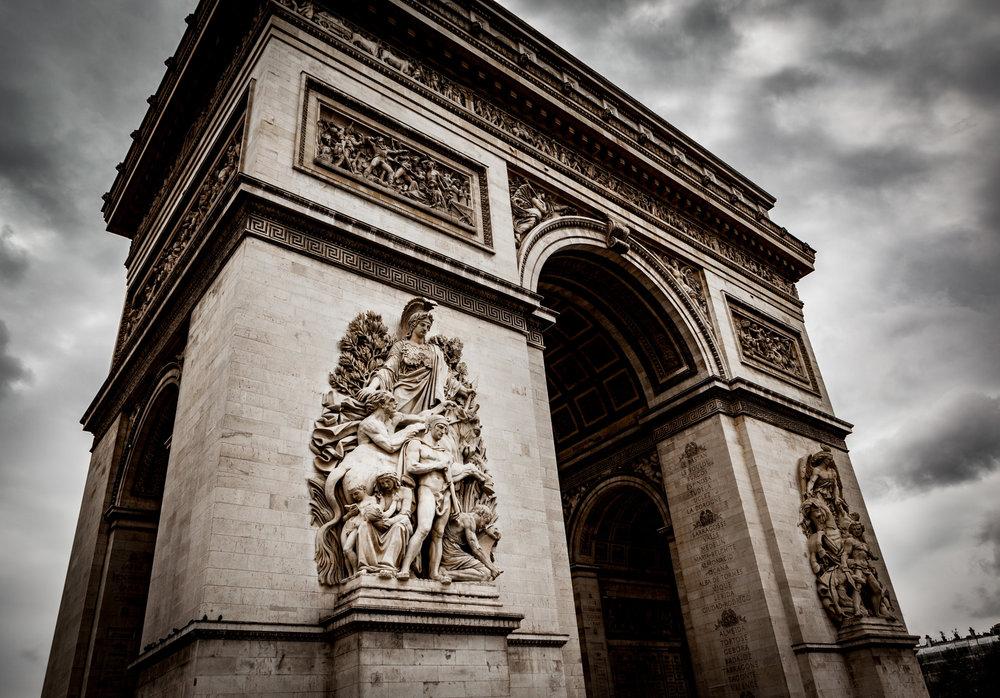 France : Paris : Arc de Triomphe