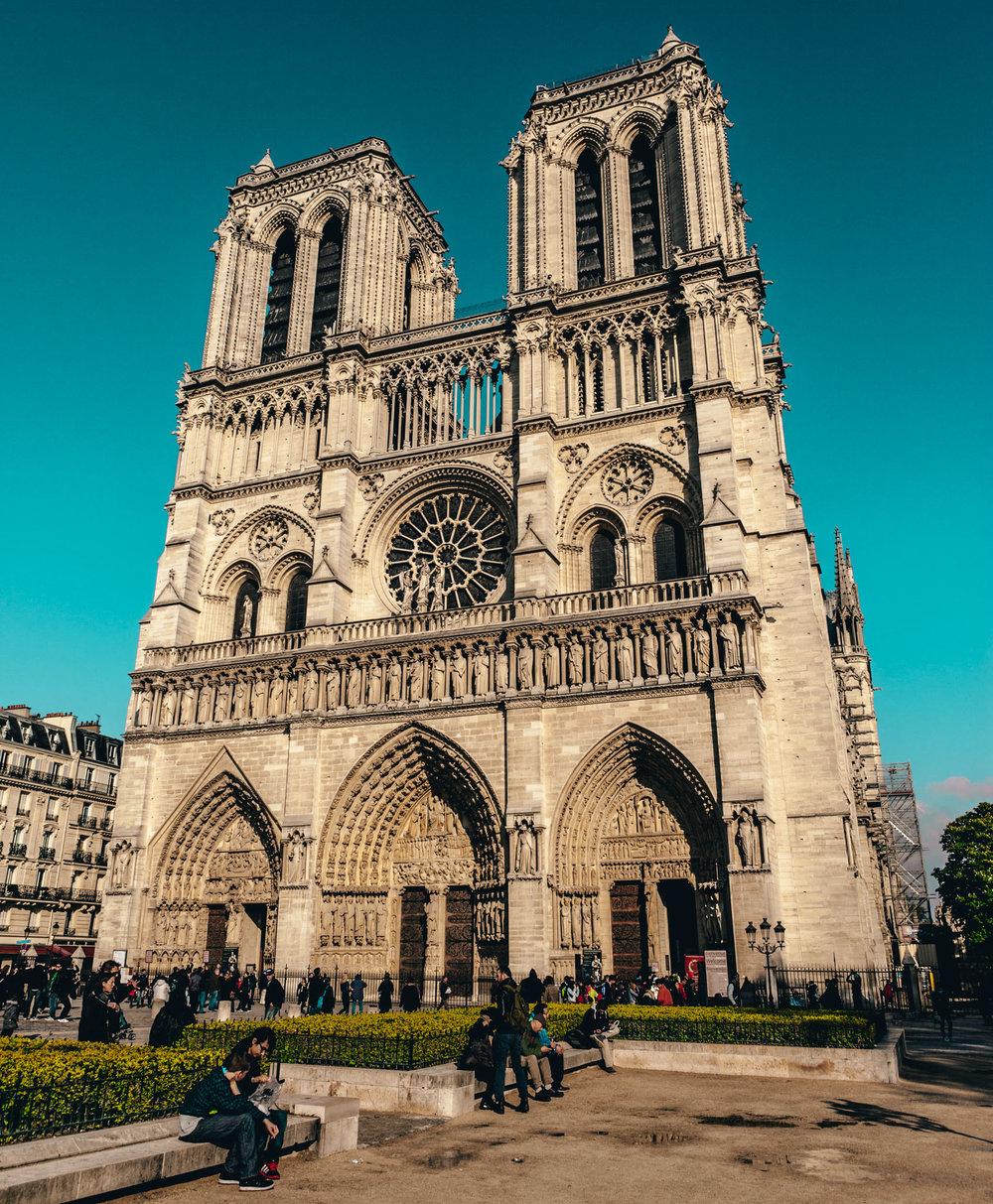 France : Paris : Notre Dame
