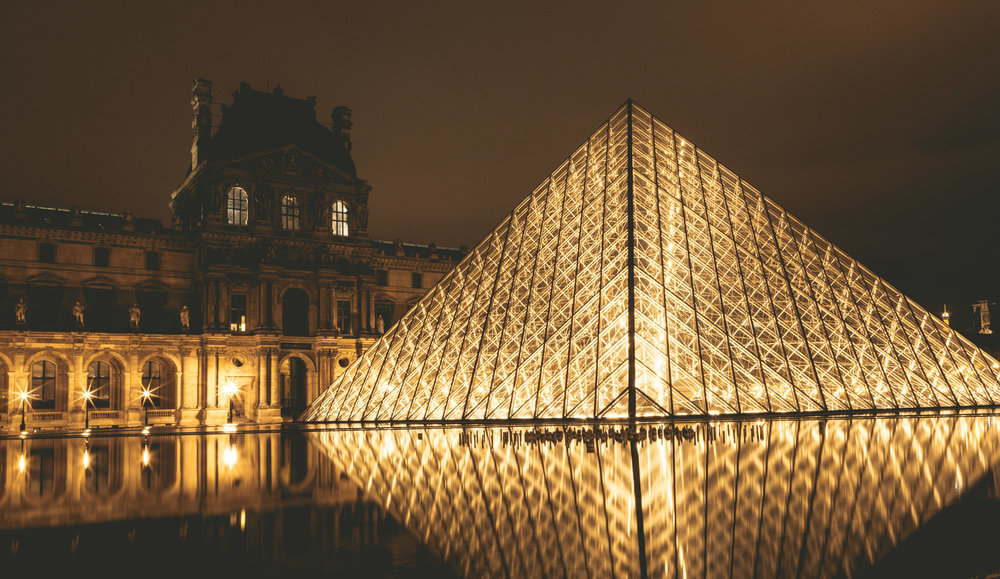 France : Paris : Louvre