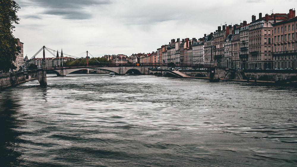 France : Lyon : Saone River