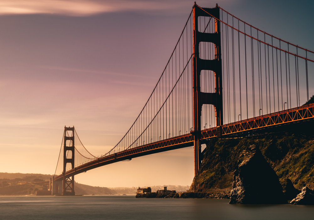 California : San Francisco : Golden Gate Bridge