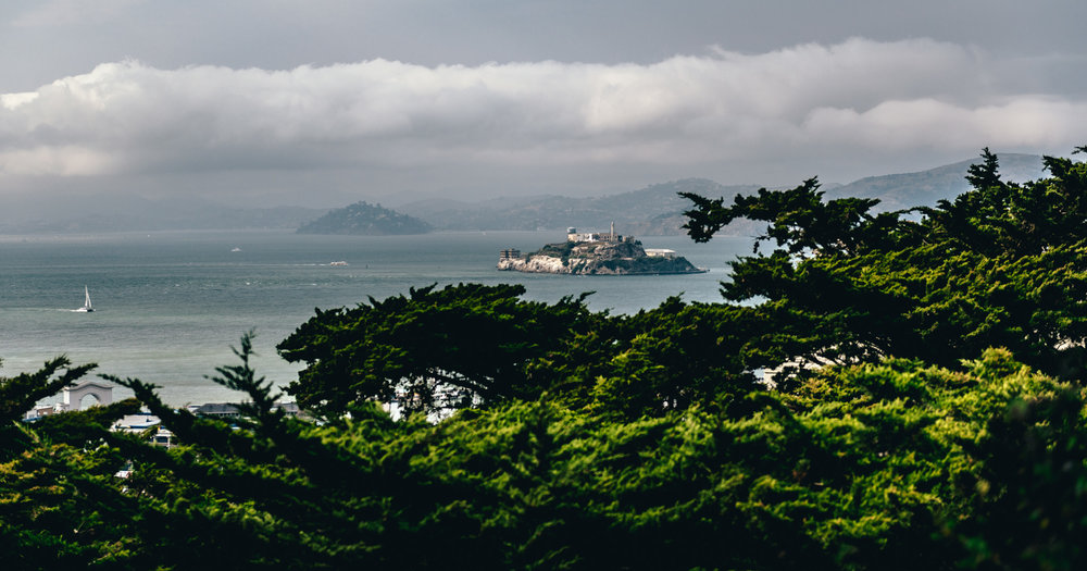 California : San Francisco : Alcatraz