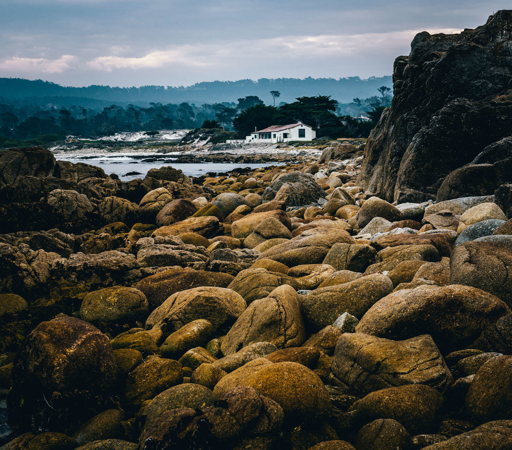 California : Monterey : The Restless Sea