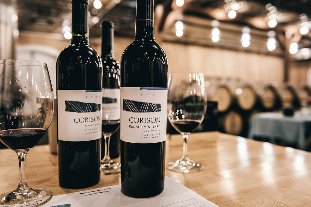 California : Napa Valley : Tasting at Corison in St. Helena