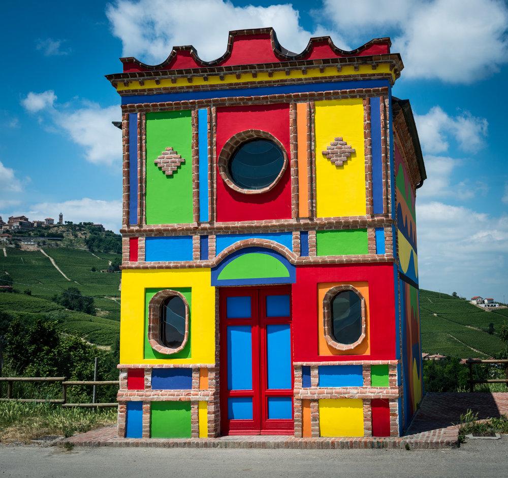 Italy : Piedmont : Cappella delle Brunate in La Morra