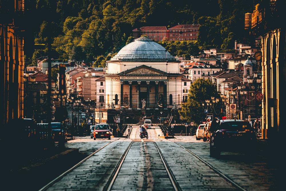 Italy : Turin : Gran Madre di Dio, aka Big Mama