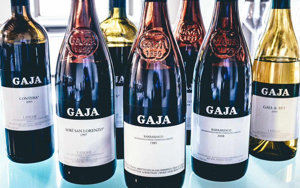 Italy : Piedmont : Tasting at Gaja in Barbaresco