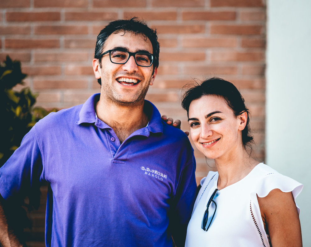 Italy : Piedmont : Giuseppe and Francesca Vaira