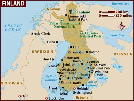 The jury is out as to whether or not Finland is actually in Scandinavia. FYI.