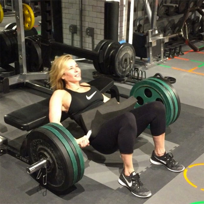 Chelsea Handler knows what's up - the thrust is a must.
