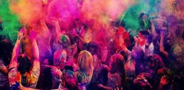Holi colorful fun!