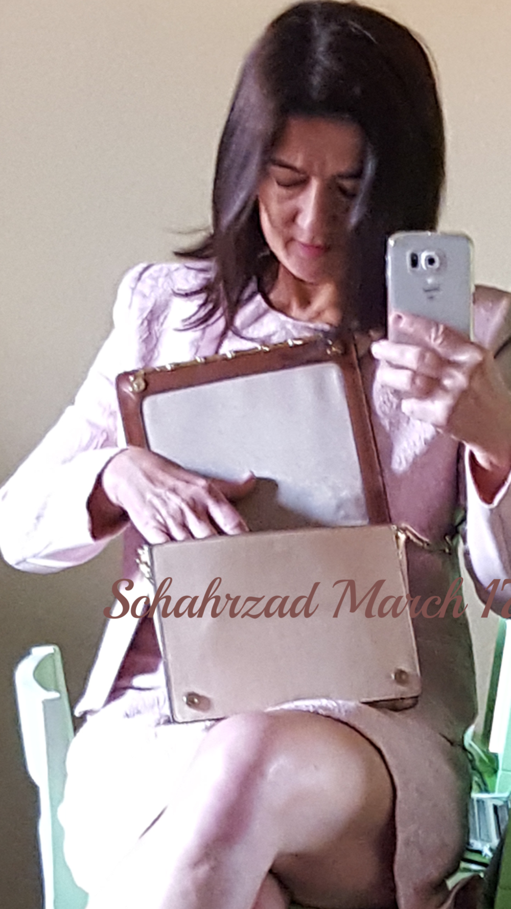 pink suit and purse march 31 2017.png